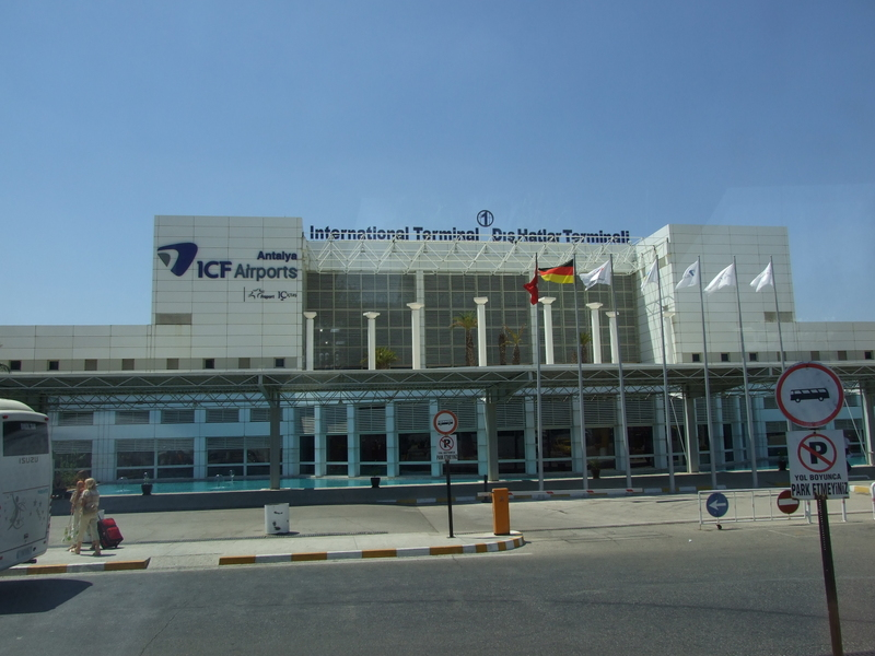 L'aéroport d'Antalya (aéroport d'Antalya). Sayt.3 officiel